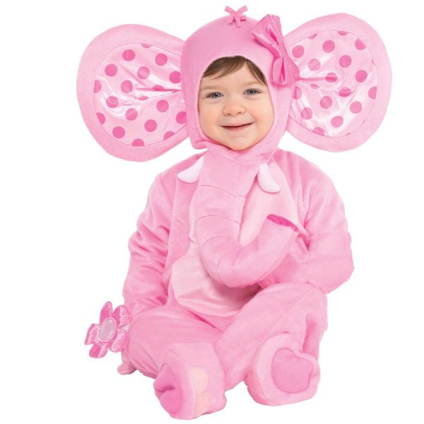 Babies Elephant Sweetie Costume Fancy Dress Outfit